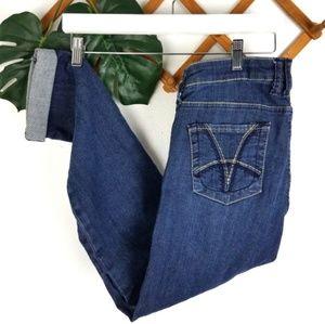 KFTK | 6 Boyfriend Dark Wash Jeans Kut From Kloth